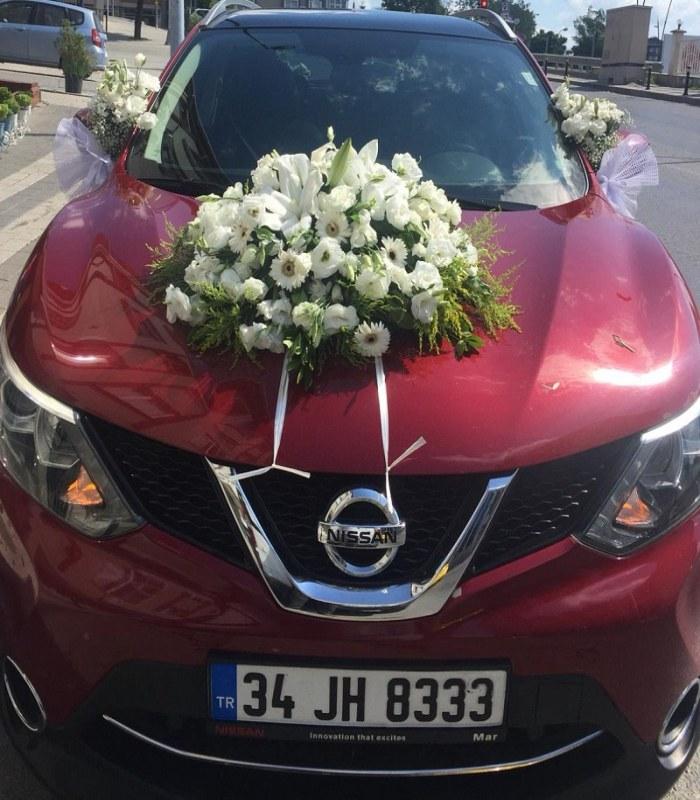 Nissan Gelin Arabası Süslemesi