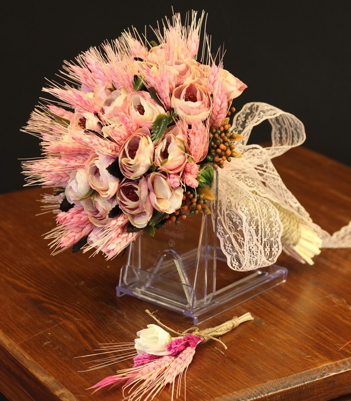 Pembe Erengül Başak Gelin Çiçeği